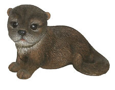 Vivid Arts - REAL LIFE WOODLAND ANIMALS - Standing Otter