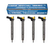 Einspritzdüse 4x Injektor 03L130277 VW AUDI SEAT SKODA 2,0 TDI  0445116030