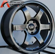 17X8.0 ROTA GRID RACING WHEELS 5X100 RIMS ET44MM FITS SUBARU IMPREZA (2001-2012)