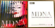 Madonna *Rare* MDNA Album Promo Sticker Collectible 2012