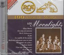 Los Moonlights CD NEW 100 Anos De Musica 2 CD's Con 40 Temas SEALED
