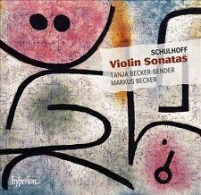 Schulhoff: Sonatas Nos.1 & 2, Suite, Sonata for solo violin
