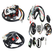 Durable Motorcycle Quad Electric Spark Plug Switch Razor CDI Coil Wire Harness