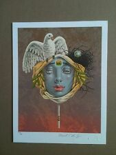 MARK VAN EPPS ( UNITED NATIONS ) WFUNA ART GRAPHIC - 1986 - PHILATELY