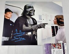DAVE PROWSE SIGNED 11x14 DARTH VADER STAR WARS JSA COA DAVID Return Jedi 9A