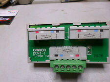 OMRON - DEVICENET T-PORT TAP SPLITTER -- 1 DROP --  DCN1-1 DIN MOUNTING