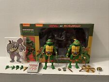 Neca TMNT Cartoon Wave 2 Raphael And Michelangelo 2-pack Loose Figures