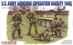 Dragon 1/35th Scale US Army Airborne Operation Varsity 1945 Figure Set No. 6148