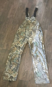Vintage Spartan Realtree Camouflage Overalls Mens 34x34 Hunting 50/50 Bibs
