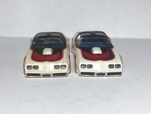 Body Lot of 2 AFX 1980 Pontiac Formula Firebirds For Parts, Restore or Customize