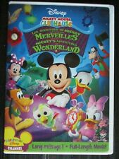 Mickey's Adventures Wonderland DVD Clubhouse Mickey Mouse Disney