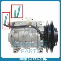 A//C Air Compressor for Isuzu NPR 07-09 NPR-HD NQR NRR 07-16 4HK1 5.2L