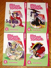 Lot 1-4 MOMO TAMA Books Nanae Chrono Tokyopop manga fantasy comedy English VGC