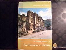 SAN DOMENICO IN SORIANO - MONUMENTI DI CALABRIA - P.ANTONINO BARILARO O. P.-1969