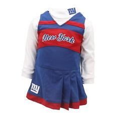 New York Giants Official NFL Infant & Toddler Girls 2-Piece Cheerleader Outfit
