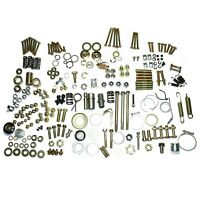 Yamaha RX100 135 Nut Washer Spring Hooks Screws Engine Foundation Bolt Kit CDN