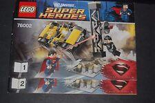 Lego - Super Heroes DC - 76002 - Superman le combat à Métropolis