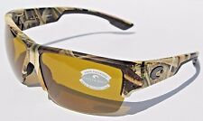 COSTA DEL MAR Hatch POLARIZED Sunglasses Mossy Oak Camo/Sunrise 580P NEW Hunting