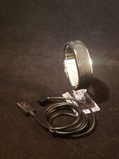 Black Polar Loop Fitness Sleep Activity Tracker USB Charger Bluetooth small