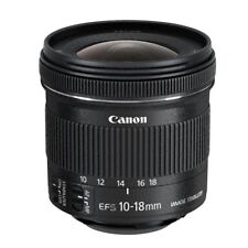 CANON OBJETIVO EFs 10-18mm f/4.5-5.6 IS STM lente gran angular