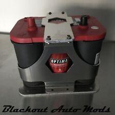 Optima 34 Universal Aluminum Battery Tray Hold Down / Relocation Kit