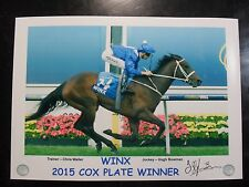 WINX 2015 & 2016 & 2017 Cox Plate signed Prints