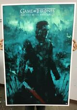 Karl Fitzgerald Game Of Thrones Screenprint Private Commission