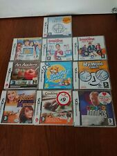 Job Lot Bundle Of 10 NINTENDO DS Games Boxed With Manuals