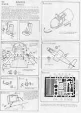 Airwaves 1/48 Arado Ar 234B Blitz etch for Hobbycraft kit # AEC48006