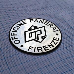 OFFICINE PANERAI - Metallic Sticker Badge - 48 mm
