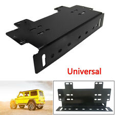 Truck SUV Front Bumper License Plate Mount Bracket Holder for Lamp/LED Light Bar