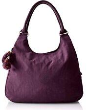 New Kipling Bagsational Plum Purple across body shoulder shopper bag  Rrp£99