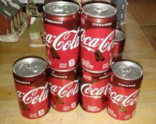 COCA COLA CINNAMON Flavored 2019 LIMITED EDITION COKE 7.5 oz CAN Soda NEW