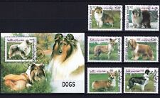 AFGHAN 1999 DOGS PERROS CHIENS CAES DOMESTICATED ANIMALS FAUNA STAMPS MNH CTO