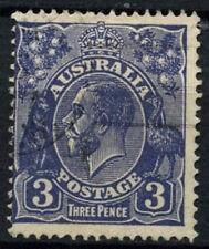 Australia 1931-6 SG#128, 3d #D48541 utilizado azul ultramar KGV