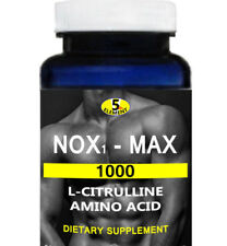 NOX1-MAX  NITRIC OXIDE EXTREME NO. BOOSTER 1000 Mg  60 CAPSULES L-CITRULLINE