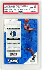 DENNIS SMITH JR. 2017 Panini Contenders #9 Lottery Cracked Ice PSA 10 Rookie RC