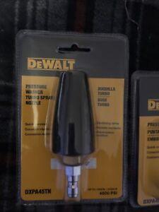 DEWALT DXPA45TN Pressure Washer Turbo Spray Nozzle 4500PSI #80170 !PLUS TIPS!!