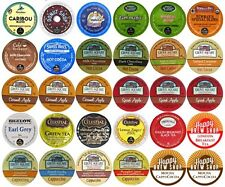Crazy Cups Variety Sampler Pack  Coffee Tea Cappuccino Cider Hot Chocolate 30 ct