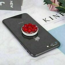 Diamond PopUp Finger Phone Holder Mount Stand Socket for Mobile Phone/Tablet RED