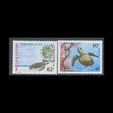 Wallis & Futuna, Sc #496-97, MNH, 1997, Green Lagoon Turtles, CA121F