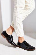 Dune London Laboux OxfordPatent Leather Black Lace Up Shoes Size 37/ US6