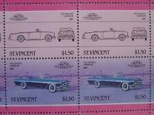 1953 PACKARD CARIBBEAN Car 50-Stamp Sheet / Auto 100 Leaders of the World
