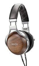 New! Denon AH-D7200 Headphones Hi-res Compatible Sealed Dynamic Type Wood Grain