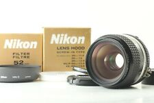 【Mint W/ Hood】Nikon Ai-s Nikkor 35mm f2 Wide angle MF Lens from Japan #212