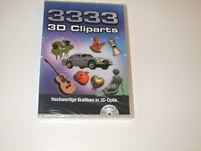 3333 3D CLIPARTS CD-ROM ( PC-CD ROM )