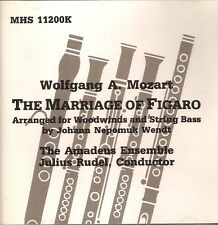 """Wolfgang A. Mozart """"The Marriage of Figaro"""" CD Musical Heritage Society #11200K"""