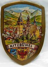Kitzbuhel Kitzbühel used badge stocknagel hiking medallion mount G5212