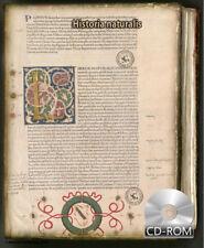 Historia naturalis by Pline l'Ancien Created 1469 AD PLINIUS SECUNDUS
