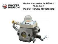 Wacker Neuson 5000183842 Carburetor For BS50-2, BS50-2i, BS60-2i Walbro HDA292